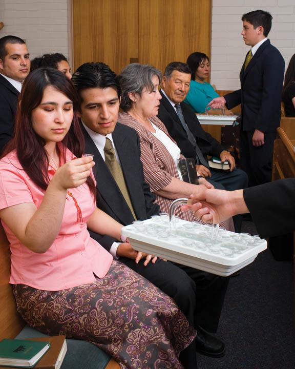 The Book of Mormon: Jesus Christ Blesses Sacrament