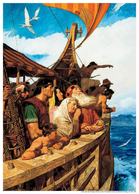 Sam was the brother of the Book of Mormon prophet Nephi.