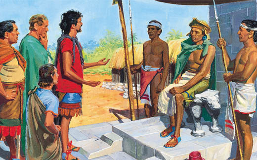 Zeniff in the Book of Mormon