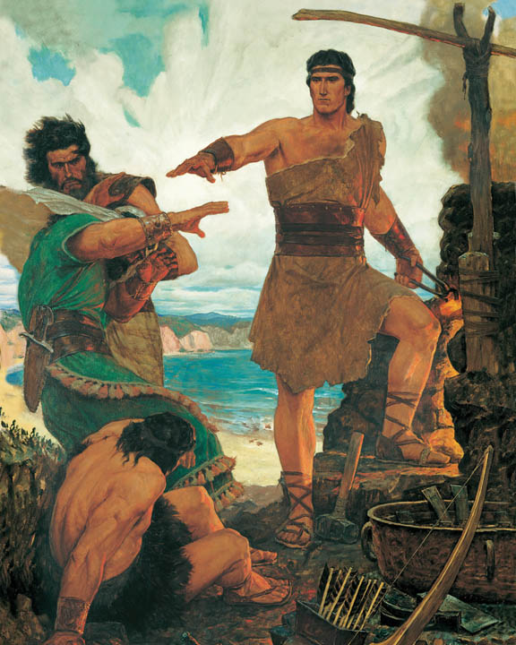 Nephi in the Book of Mormon