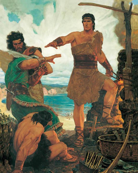 Nephi in the Book of Mormon