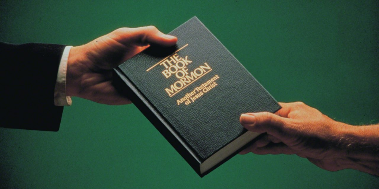 the book of mormon missionary work