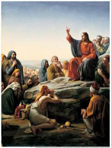 Jesus Christ Teaches Beatitudes Mormon