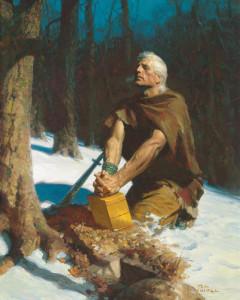 The prophet Mormon